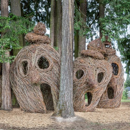 Image of Head Over Heels by Patrick Dougherty